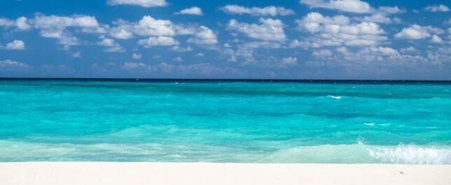 Beautiful beach in Mexico