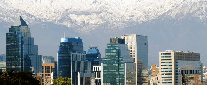 Cordilheira dos Andes Santiago Chile