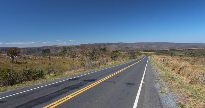 estrada chapada dos veadeiros