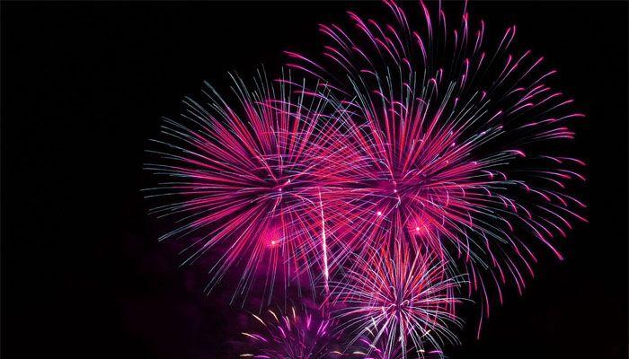 fogos de artificio réveillon