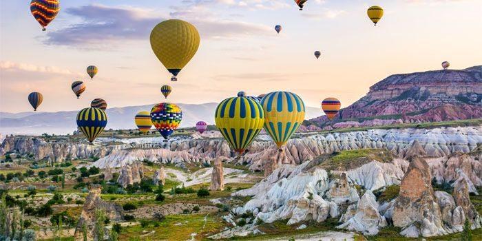 turquia balões