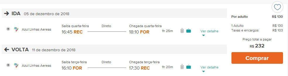 passagens aéreas promocionais nordeste do brasil