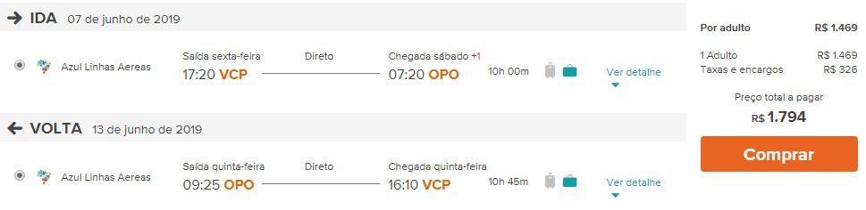 portugal passagens em promoção