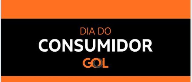 gol promoção passagens dia do consumidor
