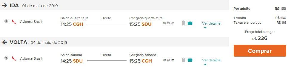voos promoção rio de janeiro
