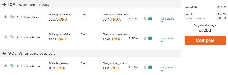 voos promoção serra gaúcha