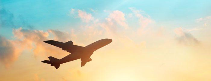 avião lindo céu