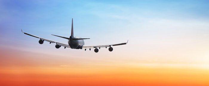 lindo céu avião