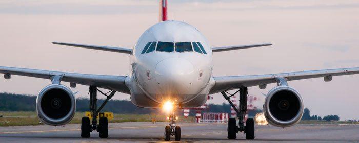 avião de passageiros