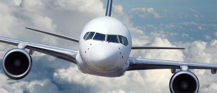 avião viajando