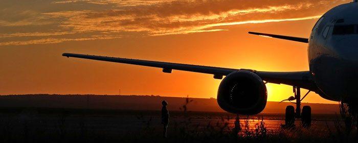 homem e o avião