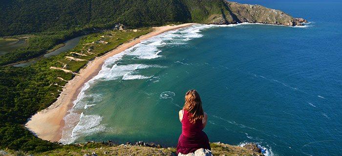 Praia em Florianópolis SC