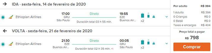 Passagens baratas Buenos Aires