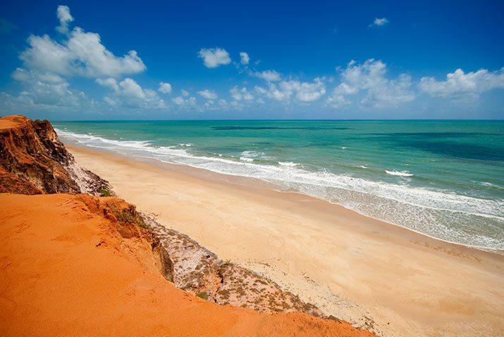 praia nordeste brasil